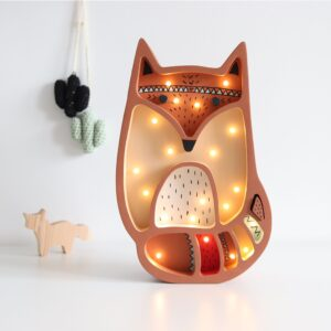 Lampka dekoracyjna rudy lisek