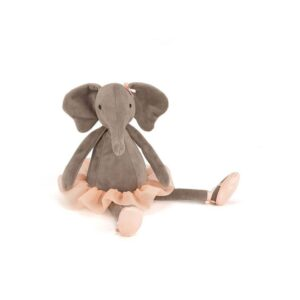 Maskotka przytulanka słonik tancerka