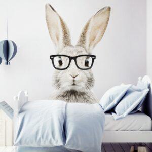 4 max 17 300x300 - Naklejka na ścianę królik w okularach
