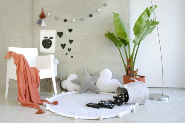 okrągły dywan do pokoju dziecka
