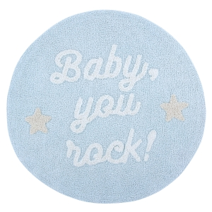 Okrągły Dywan Baby you rock!