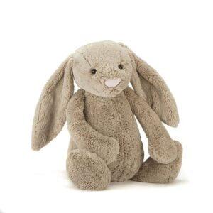 Duży królik przytulanka do pokoju dziecka jellycat. królik beżowy