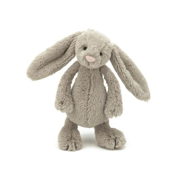 maskotka przytulanka dla dzieci króliczek beżowy