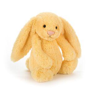 maskotka przytulanka dla dzieci króliczek cytrynowy