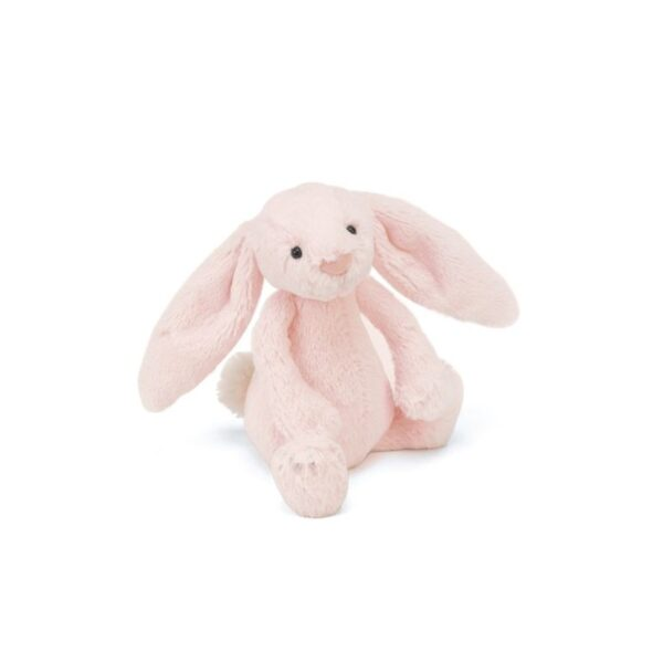 Grzechotka królik różowy 18 cm