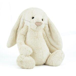 Maskotka królik kremowy duży 51 cm