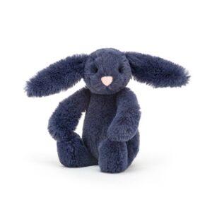 Maskotka królik Navy atramentowy 13 cm