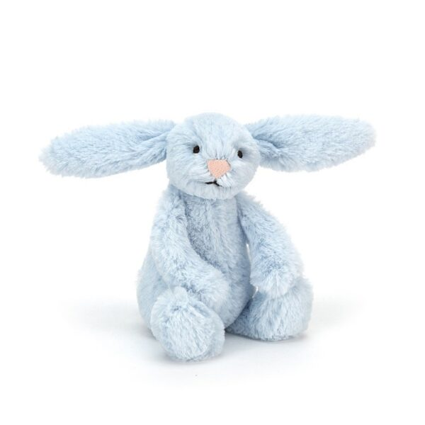 maskotka dla dzieci mały króliczek jasnoniebieski jellycat