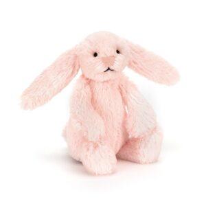 maskotka dla dzieci mały króliczek jasno różowy jellycat