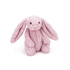 maskotka przytulanka dla dzieci króliczek różowy jellycat