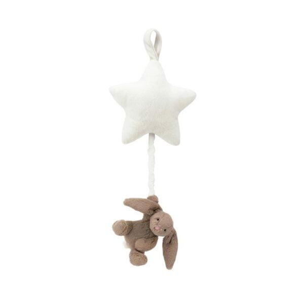 Pozytywka królik z gwiazdką dla niemowląt