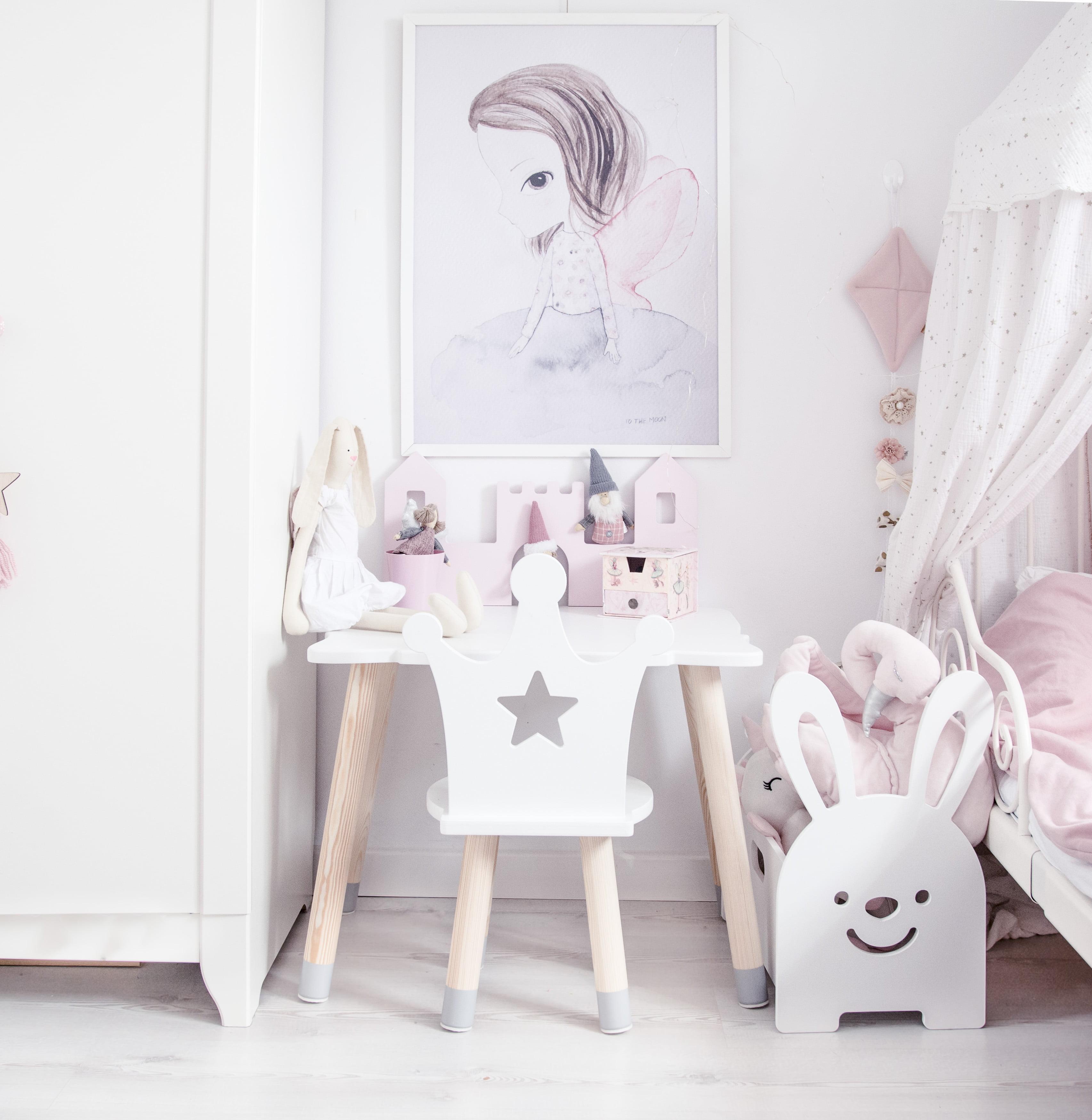 Krzesełko Dla Dziewczynki Korona