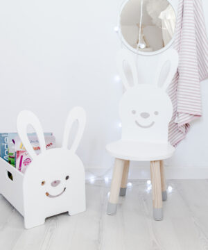Krzesełko dziecięce króliczek
