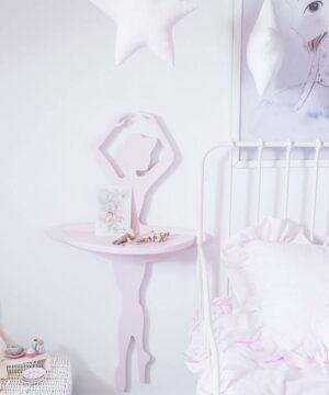 Półka baletnica do pokoju dziewczynki