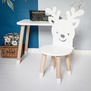 Krzesełko dziecięce reniferek