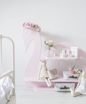 Półka do pokoju dziecięcego łabędź
