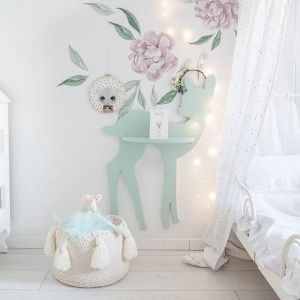 półka jelonek bambi do pokoju dziecka