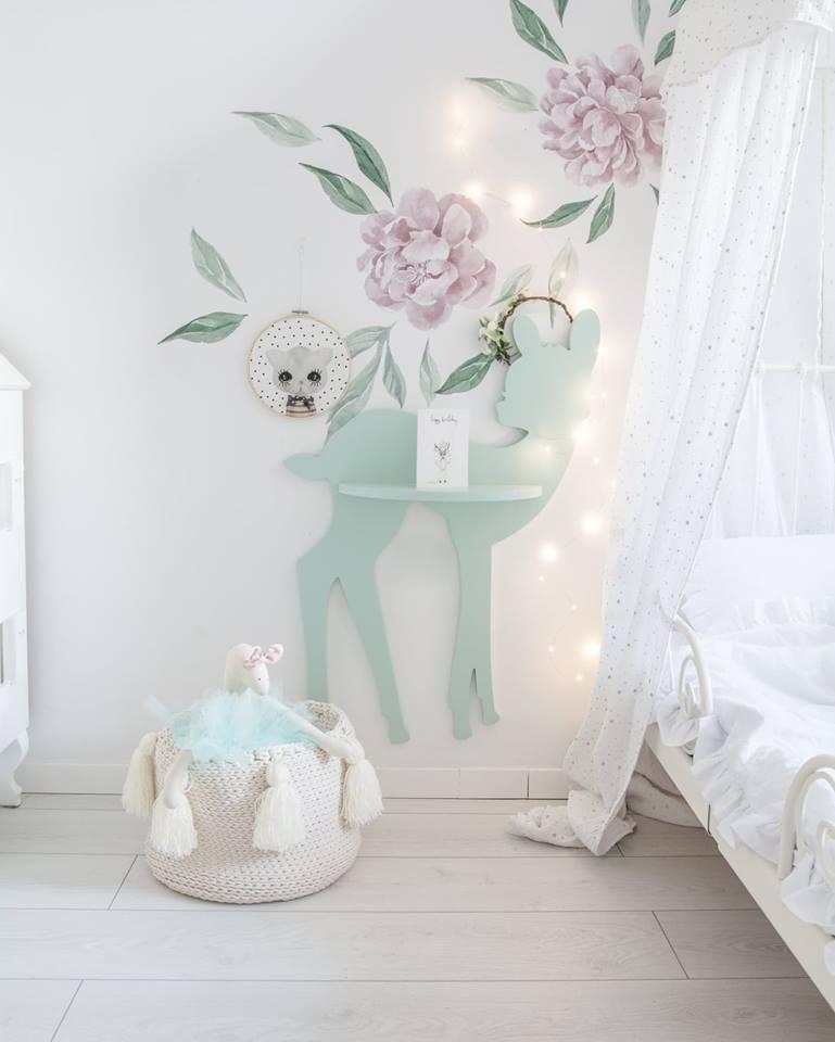Półka Do Pokoju Dziecięcego Jelonek Bambi