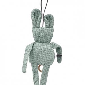 zabawka z pozytywką dla niemowląt bamboom vintage, zabawka królik mietowy, na prezent
