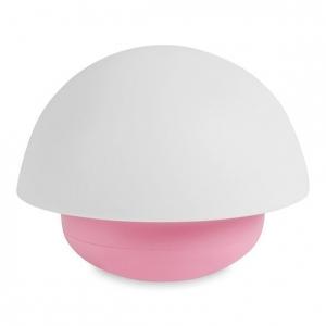 Lampka LED różowy grzybek do pokoju dziecka