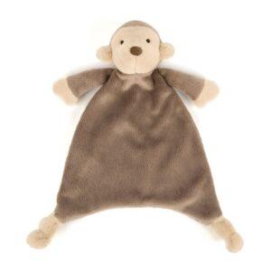 Szmatka przytulanka małpka dla niemowląt, jellycat wyprawka