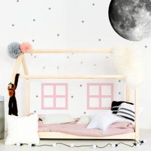 naklejki pastelowe okna do domku do pokoju dziecka