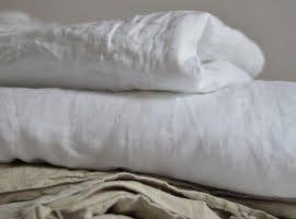 lniana pościel do łóżeczka dziecka
