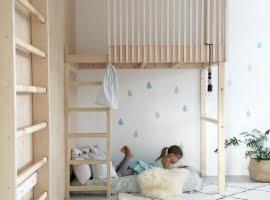 aranżacja małej przestrzeni dla dzieci, antresola