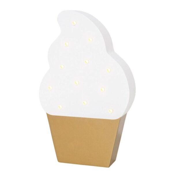 lampka nocna w kształcie loda do pokoju dziecka