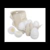 drewniane jajka ekologiczne do krojenia, zabawka dla dzieci