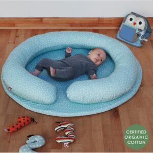 szara mata do zabawy dla niemowląt