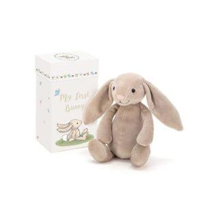 pierwsza przytulanka maskotka króliczek dla dzieci