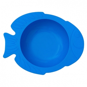 miseczka do jedzenia w kształcie rybki dla dzieci z przyssawką kidodo