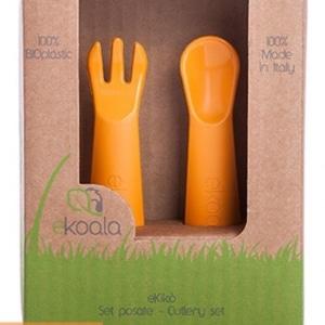 pol pl eKoala Zestaw sztuccow 100 BIOplastik Pomaranczowy 472 2 300x300 - Sztućce dla dzieci z BIOplastiku pomarańczowe