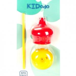 pol pm KIDodo Zestaw Silikonowych Nakladek na Kubki Czerwona Zolta 1097 1 300x300 - Zestaw silikonowych nakładek na kubki czerwona i żółta