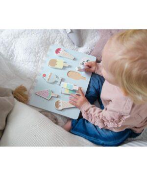 puzzle lody zabawka dla dziecka