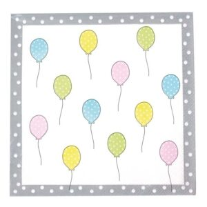 serwetki urodzinowe baloniki
