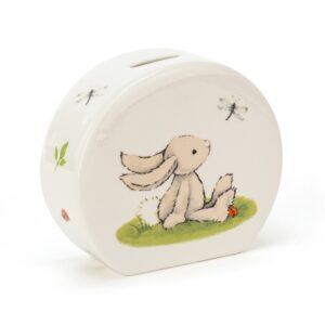 skarbonka z królikiem dla dzieci