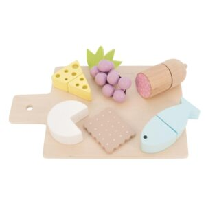 Drewniana zabawka przekąski, tapas dla dziecka