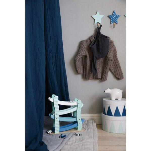 wieszak gwiazdki pastelowy niebieski 3szt 600x600 - Wieszaki gwiazdki niebieski 3 szt