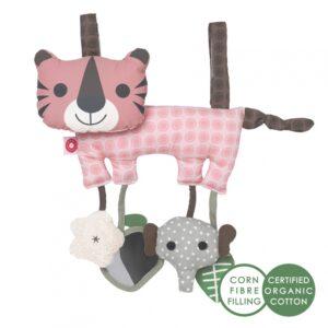 Zabawka edukacyjna różowy tygrys