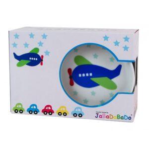 Porcelanowy zestaw obiadowy samoloty dla dzieci
