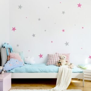 naklejki gwiazdki do pokoju dziecka