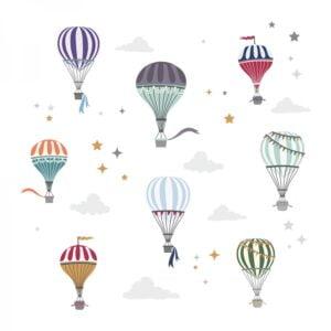 2 max 113 300x300 - Naklejki na ścianę balony beżowe DK371
