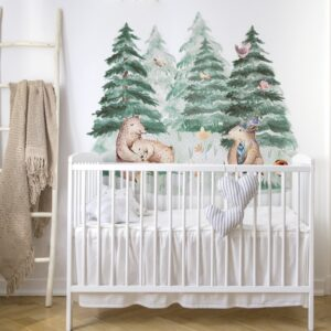 naklejka na ścianę za łóżko, ochrona ściany przy łóżku, do pokoju dziecka