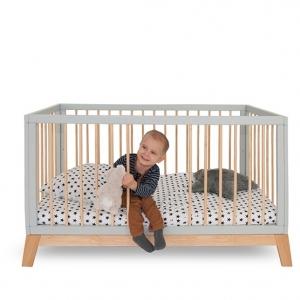 łóżeczko skandynawskie dla niemowląt, do pokoju dziecka