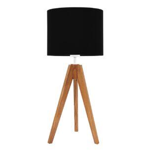lampa na stolik czarna