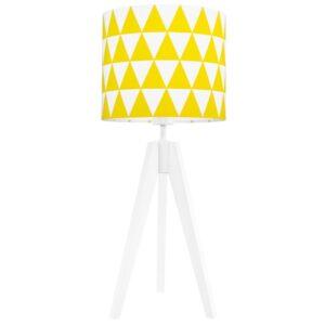 5da116d4 fe75 439f 9b29 846b2bffbe08 2 300x300 - Lampa na stolik żółte trójkąty
