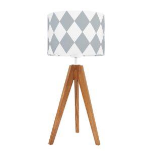 lampa na stolik szare ro