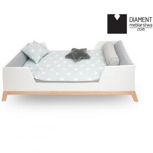 łóżko dla dziecka w stylu skandynawskim